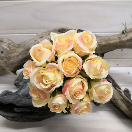 Rose Bud Posy Yellow 4140