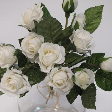 Rose Bud white 1155