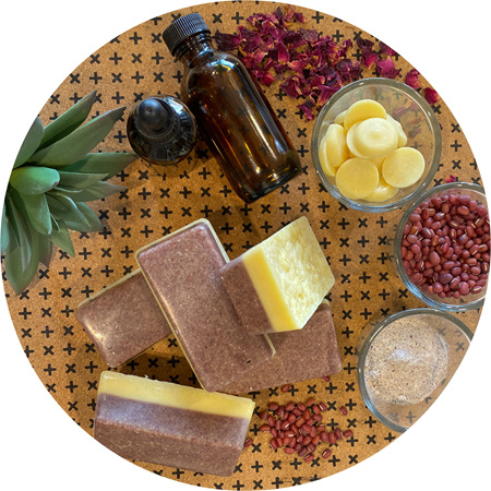 Rose Cacao Exfoliant Bar