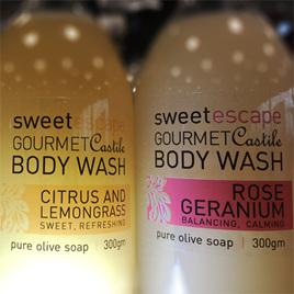 Rose Geranium Gourmet Castile Body Wash