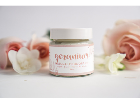 Rose Geranium Natural Deodorant