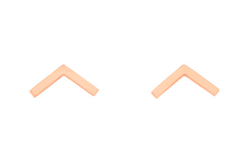 Impulse Geo Rose Gold Stud