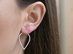 Rose Gold, Impulse, Stud, Earrings, Whim
