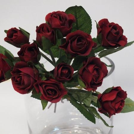 Rose Mini Bud Red 4243