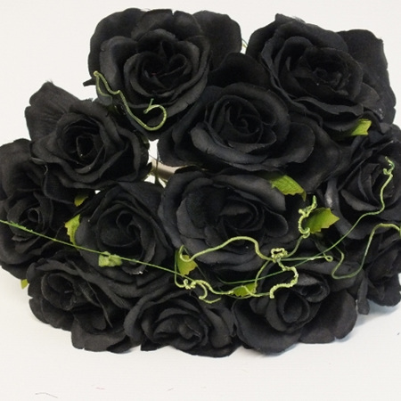 Rose Posy 1007 Black
