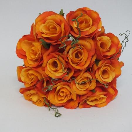 Rose Posy 1007  Orange