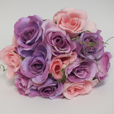 Rose Posy 1007 Purple and Pink