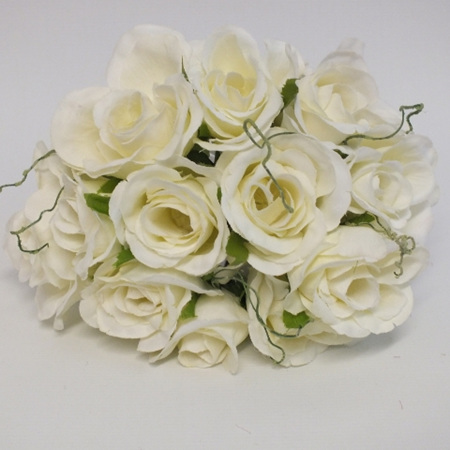 Rose Posy 1007 White Cream
