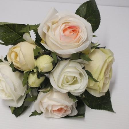 Rose posy Pink white  4560