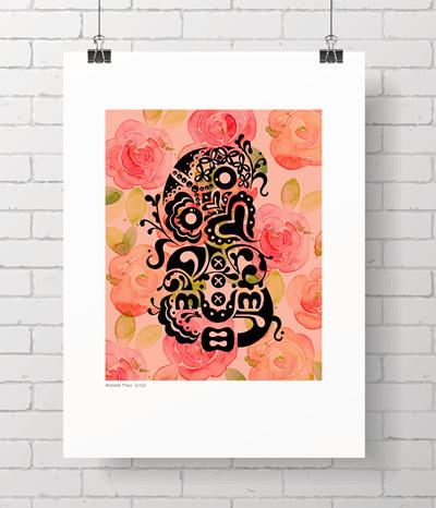 Rose Tiki - limited edition - 4 LEFT
