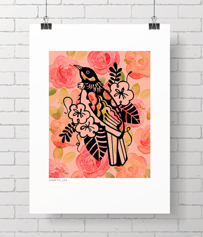 Rose Tui - limited edition
