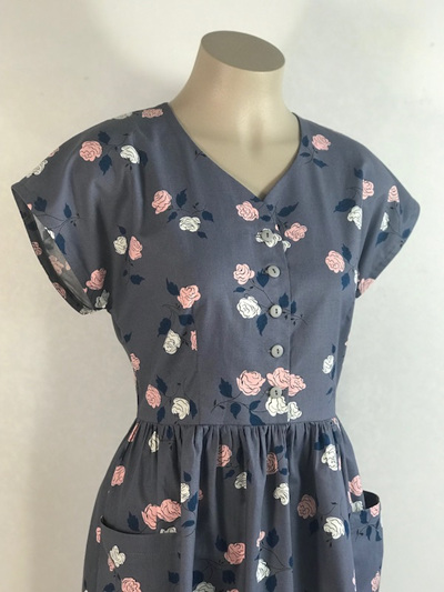 Rose Ume shirt dress