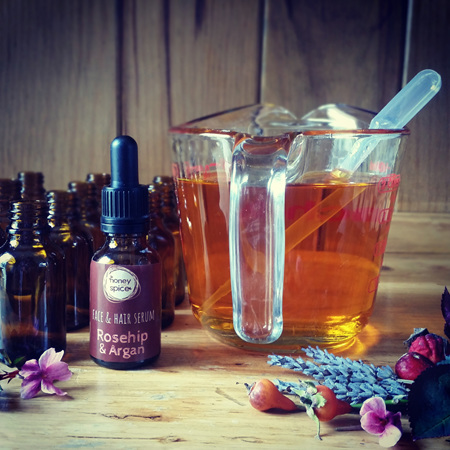 Rosehip & Argan - Face & Hair Serum