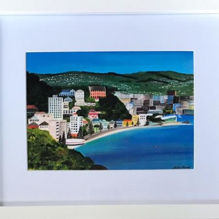 Roseneath  - Oriental Bay - medium frame