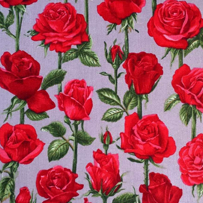 Roses Are Red - Grey
