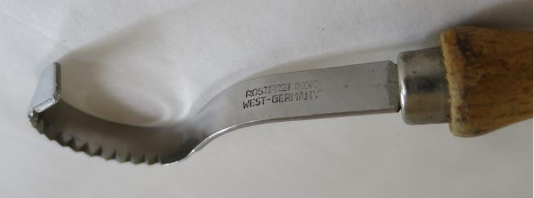Rostfrei butter curler