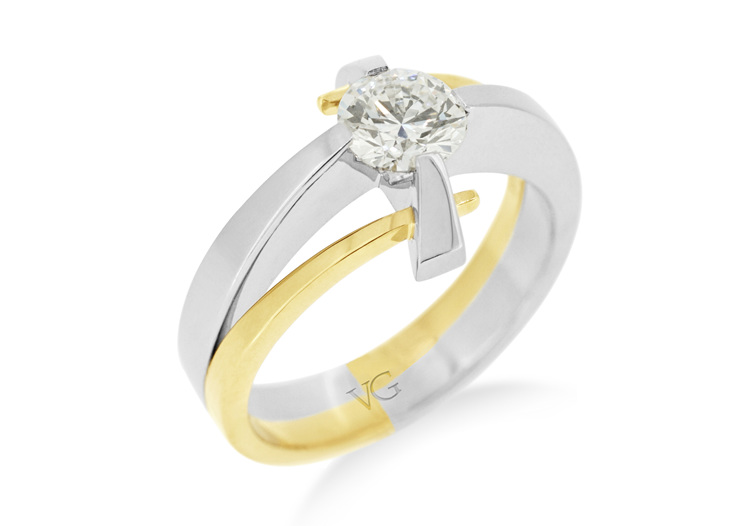 Rotec diamond ring design Finalist 2016 NZ Best Design Awards