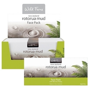 Rotorua Mud Face Pack with Manuka Honey 20g