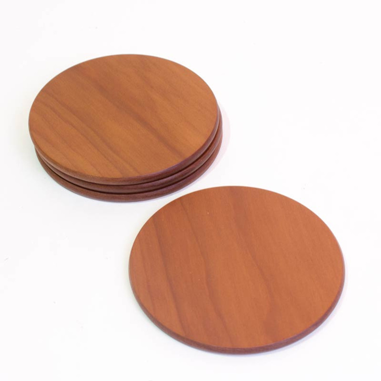 round ancient kauri coasters plain