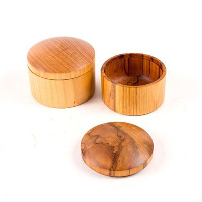 Round Box Large - 60mm Dia