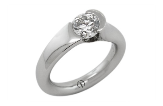 Round Brilliant Cut Engagement Ring