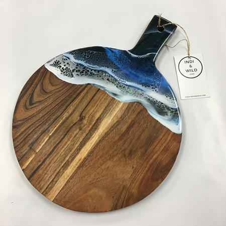 Round Grazing Board - Ocean Style