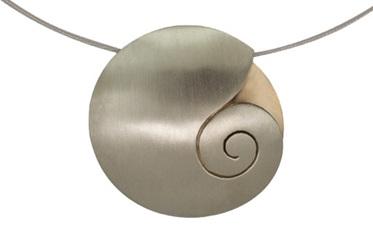 Round Kereru Pendant