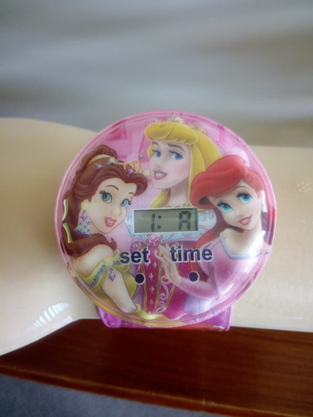 Round Princess Snap Watch