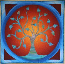 Round Tree by GourmetQuilter