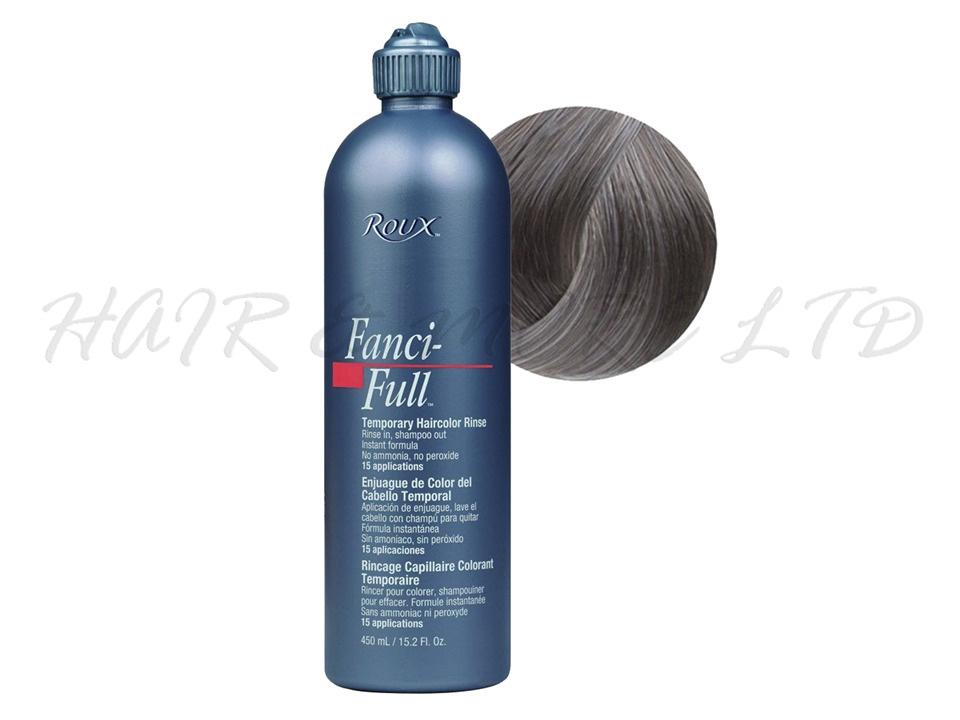 Roux Fancy Full Hair Colour Rinse True Steel 450ml