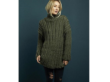 Rowan Pattern: Mia Big Wool by Quail studio