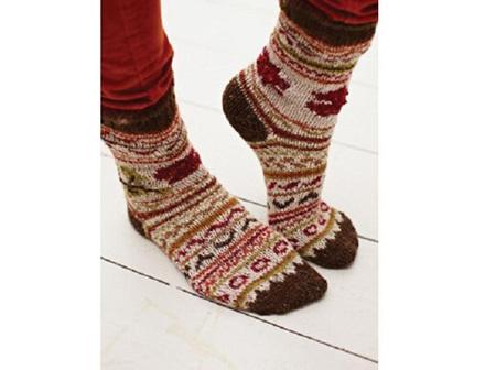 Rowan Patterns:  Pine Socks