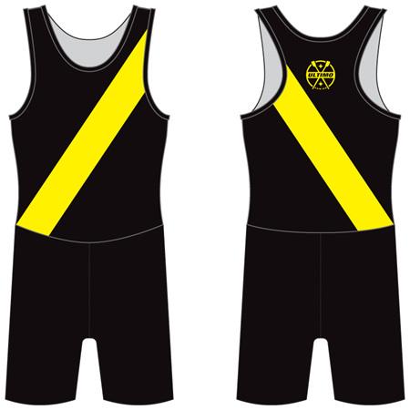 Rowing Suit - Diagonal Stripe