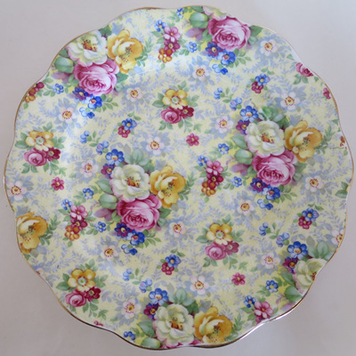 Lovely chintz trio