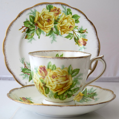 Tea Rose pattern