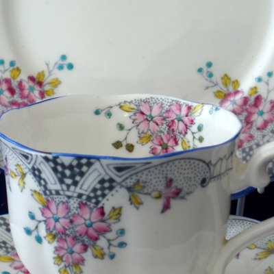 Vintage Crown China trio