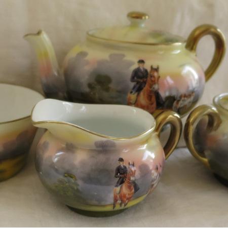 Royal Bayreuth 4 piece tea set