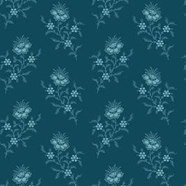 Royal Blue Chrysanthemum Deep Sea A-9175-B