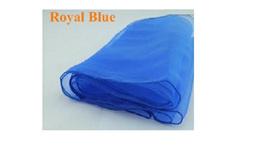 Royal Blue Organza Table Runners