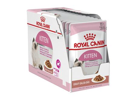 Royal Canin Kitten Chunks in Gravy 85g