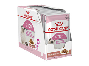 Royal Canin Kitten Chunks in Gravy 85g