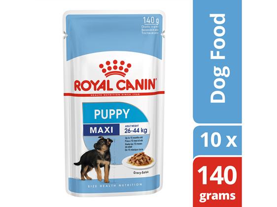Royal Canin Maxi Puppy Gravy