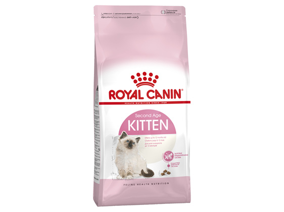 Royal Canin Second Age Kitten Dry Food