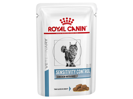 Royal Canin Sensitivity Control Chicken with Rice Feline Wet