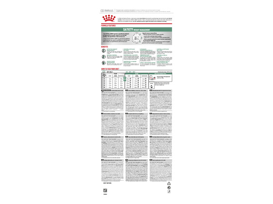 Royal Canin Veterinary Satiety Weight Management Canine
