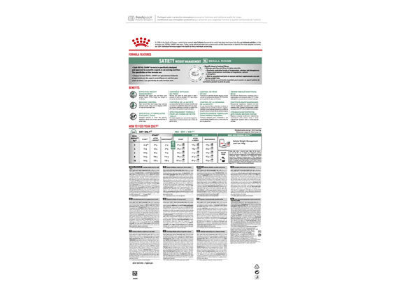 Royal Canin Veterinary Satiety Weight Management Small Dog