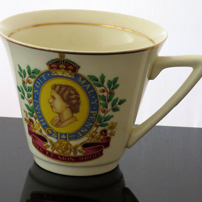 Royal commemorative tea cup