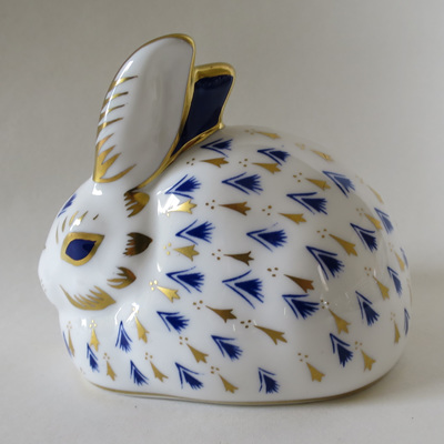 Rabbit paperweight