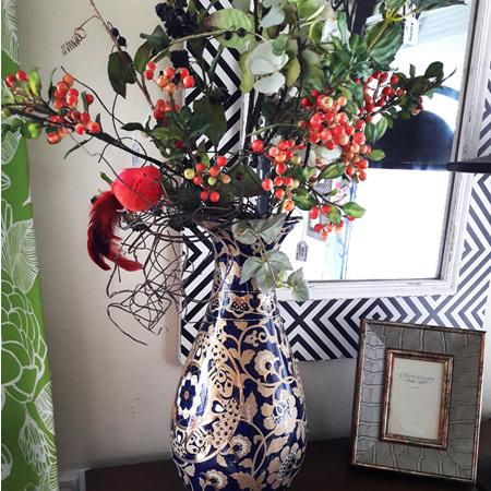 Royal Dane Vase Porcelain - $295