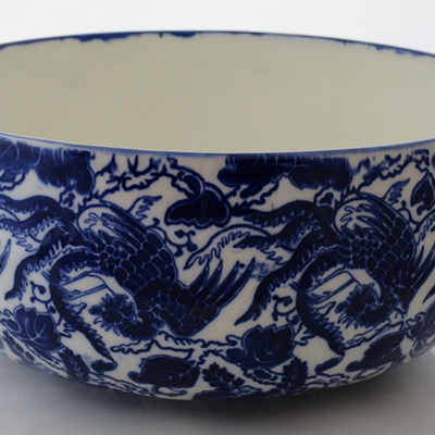 Royal Doulton cobalt blue